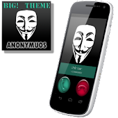 BIG! caller ID Theme Anonymous