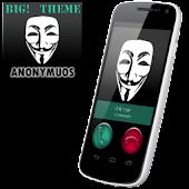 BIG! caller ID Theme Anonymous