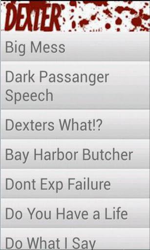 Sounds of Dexter