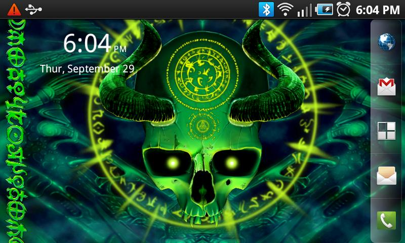 Mystical Skull Free Wallpaper - screenshot