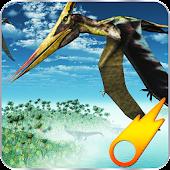 Crazy Dino Flight Simulation