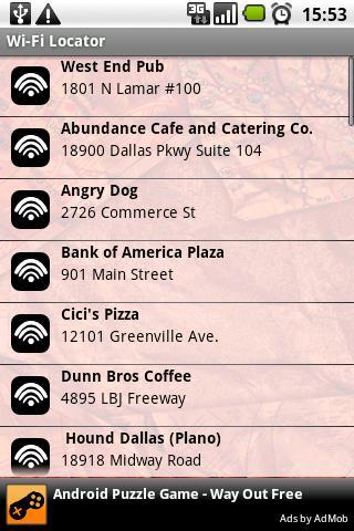 Wi-Fi Locator (Free)- screenshot