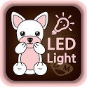 Pink Flash Light (LED Light) icon