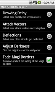 Magi Attack Live Wallpaper- screenshot thumbnail