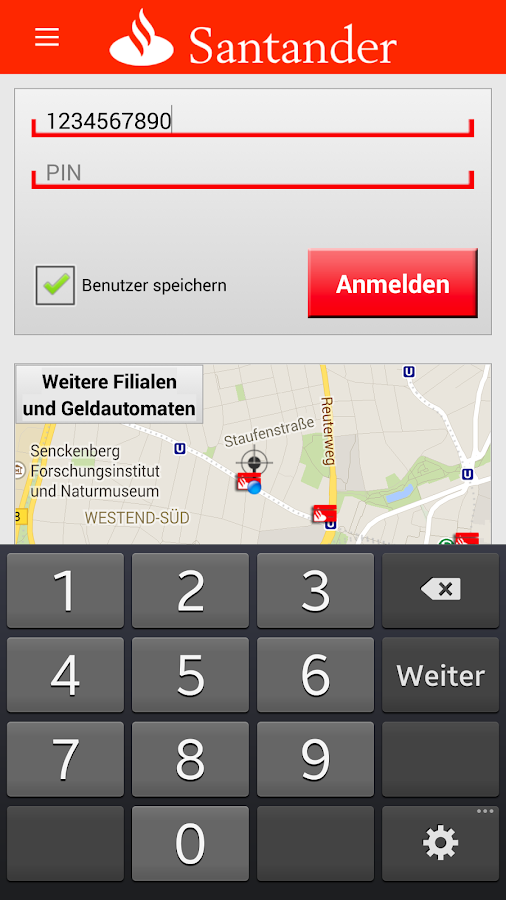 Santander bank mobilebanking android apps on google play - Santander consumer finance home ...