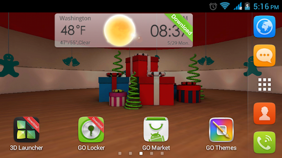 Christmas 3D LWP HD - screenshot thumbnail
