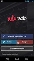 Screenshot of Youradio
