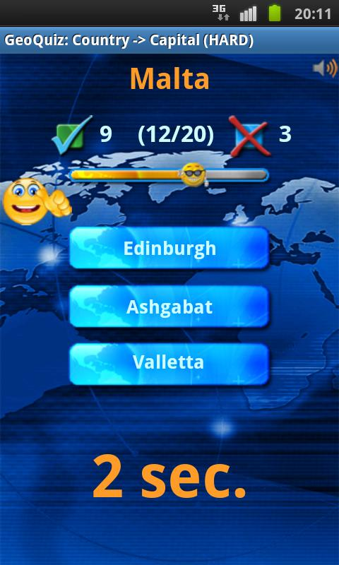 Geo Quiz Pro- screenshot