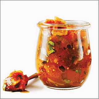 Apricot-Fig Chutney.