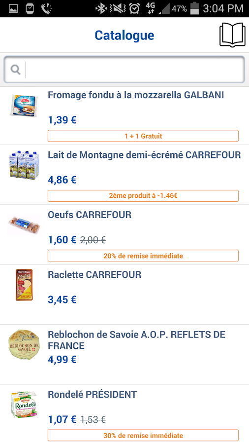 Carrefour - screenshot