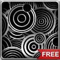 Black and White Patterns LWP icon