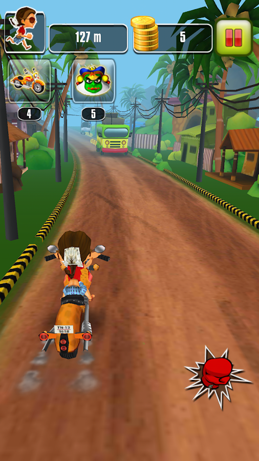 Chennai Express Official Game- screenshot