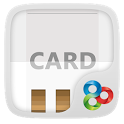 WHITECARD GO Launcher Theme icon