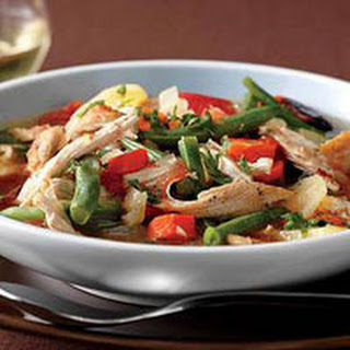 Hearty Chicken-Vegetable Soup.