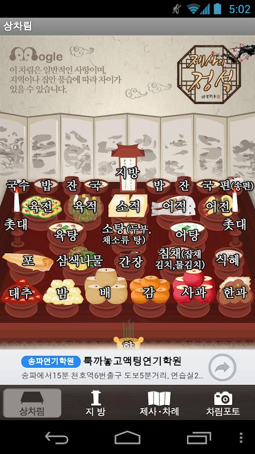 제사의 정석 - screenshot