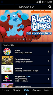 Mobile TV - screenshot thumbnail
