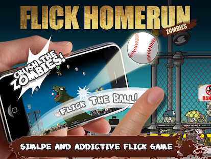 Flick Home Run : Zombies