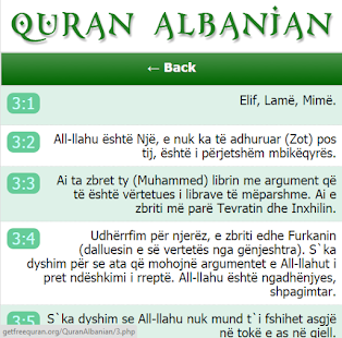 Free Quran Albanian APK