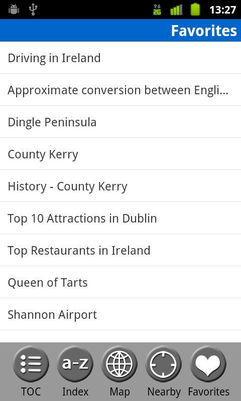 Ireland - FREE Travel Guide- screenshot