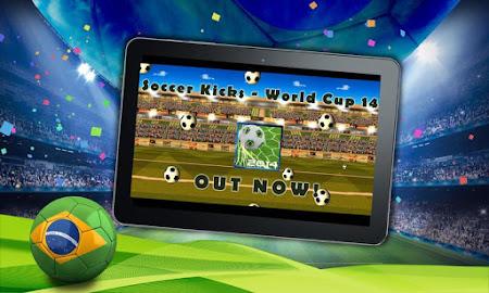 Soccer Kick - World Cup 2014 1.3 screenshot 42089
