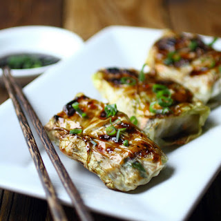 Cabbage Leaves Spring Rolls