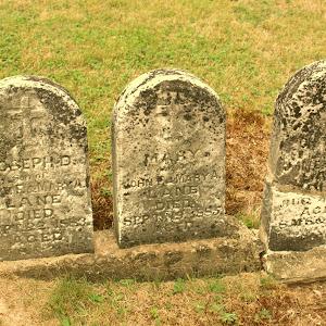 9.8.10 Sugar Ridge trip (75) cemetery of St Francis Xavier Parish on Sugar Ridge PA.jpg