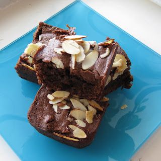 Amaretto Cherry Brownies.
