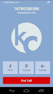 KeepCalling – Best Calling App - screenshot thumbnail