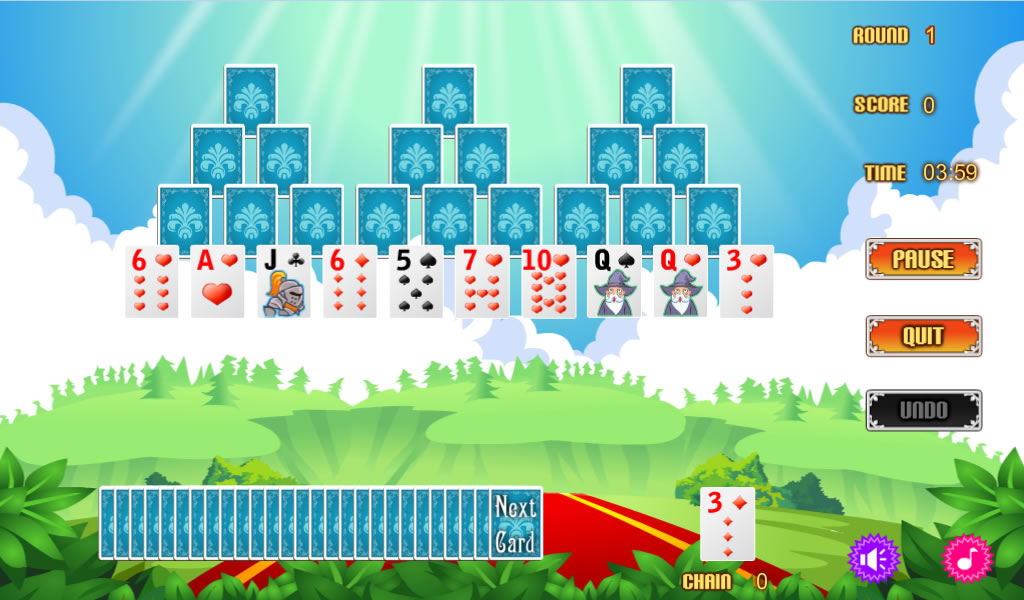 Magic Castle Solitaire Free- screenshot