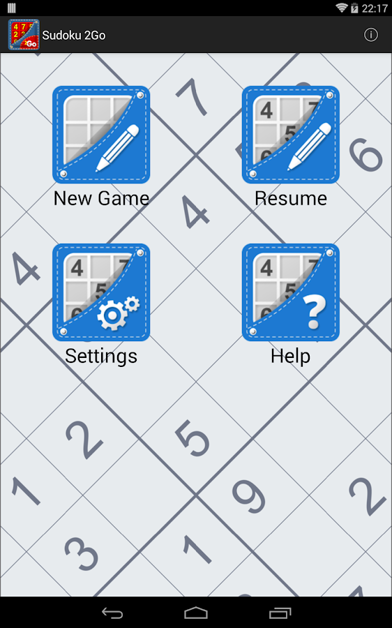 Sudoku 2Go Free - screenshot