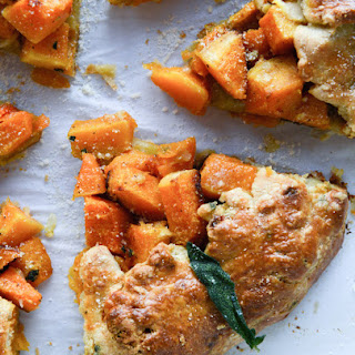 Parmesan Crusted Butternut Galette