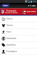 Screenshot of Fundación Atlético de Madrid