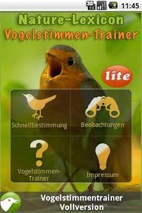 Vogelstimmen-Trainer Lite- screenshot thumbnail