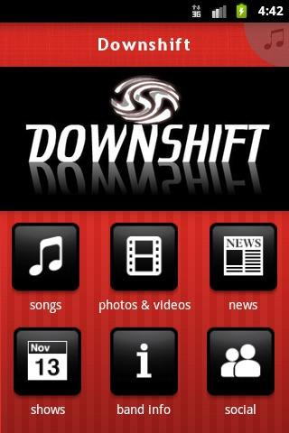 Downshift - screenshot