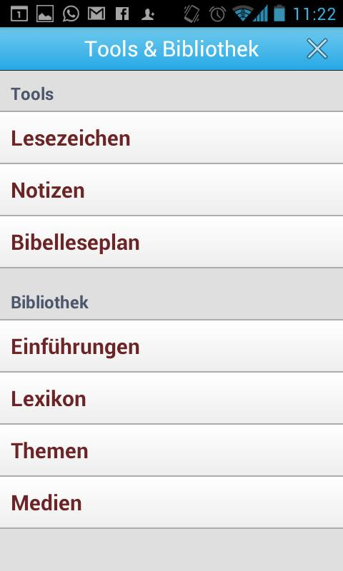 BasisBibel - screenshot