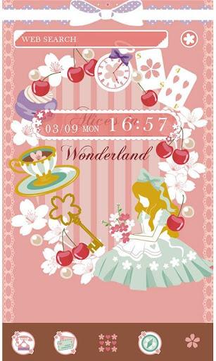 Alice in the Spring Theme 1.0.1 Windows u7528 1