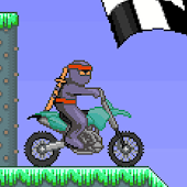 Ninja Race 2 - Motorcross game