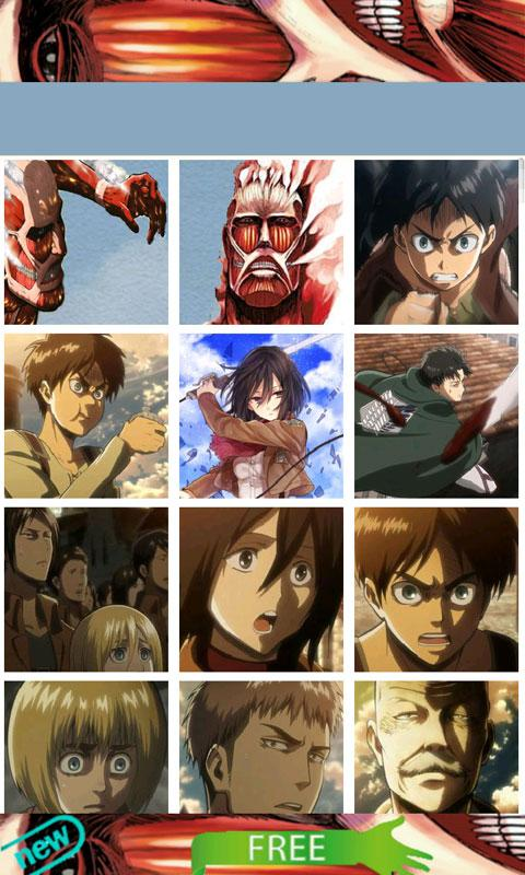 Attack on Titan Sticker - screenshot