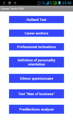 Career Tests PRO