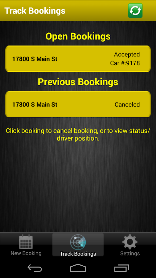 EzTaxi Los Angeles County - screenshot