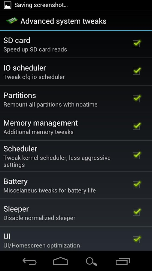 AutoKiller Memory Optimizer- screenshot
