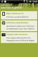 Screenshot of InfoTour Explorer