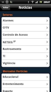 NetSeg: miniatura da captura de tela