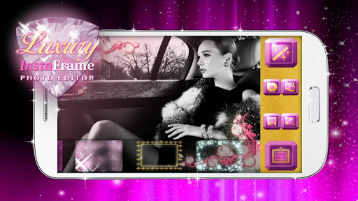玩免費攝影APP|下載贅沢と 写真加工フォトフレーム- 写真アプリ, 特殊効果 app不用錢|硬是要APP
