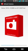 Screenshot of Infrared camera