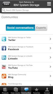 System Storage Quick Reference - screenshot thumbnail