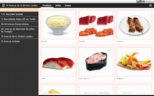 Buzz Sushi - screenshot thumbnail