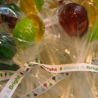 Fruit Lollipops.