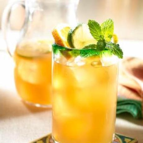 10 best green tea alcoholic drinks recipes for Mixed drinks with green tea