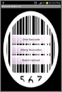 Barcode Maker Ad- screenshot thumbnail